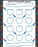 Opinion Writing Graphic Organizer - 5 paragraphs