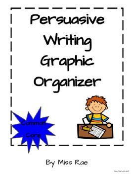 Persuasive Writing Graphic Organizer * OREO