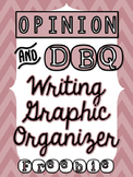 Opinion Writing Graphic Organizer DBQ - FREEBIE