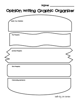 free printable graphic organizers opinion writing graphic organizer freebie by erin morrison 21870 | original 646460 2