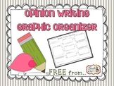 Opinion Writing Graphic Organizer Free