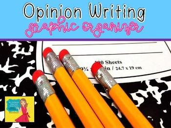 Opinion Writing Graphic Organizer Unit