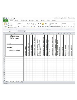 Opinion Writing Graphic Organizers and Paragraph Organizer with Checklist