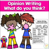 Opinion Writing Chewing Gum in School