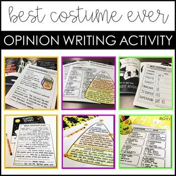 Halloween Opinion Writing