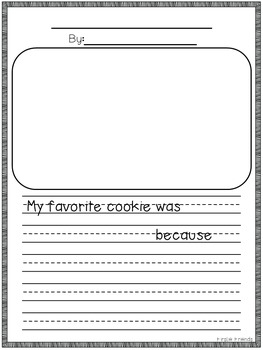 Opinion Writing: Holiday Cookies