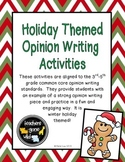 Opinion Writing Holiday Themed Bundle