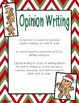 Opinion Writing Holiday Themed Bundle