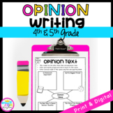 Opinion Writing Unit with Google Slides Distance Learning 4th & 5th Grade