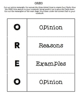 Opinion Writing Interactive Notebook Activities {CCSS Aligned}