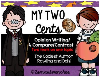 Opinion Writing - J.K. Rowling and Roald Dahl