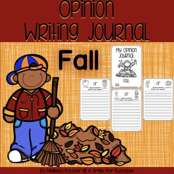 Opinion Writing Journal- Fall