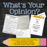 Opinion Writing Lesson