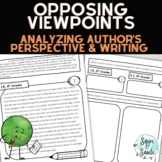 Opinion Writing Lesson--Analyzing Opposing Viewpoints/Writing Opinion