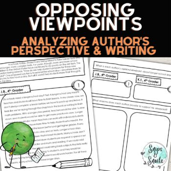 Opinion Writing Lesson--Analyzing Opposing Viewpoints/Writ