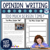 Opinion Writing Lesson - Too Much Screen Time