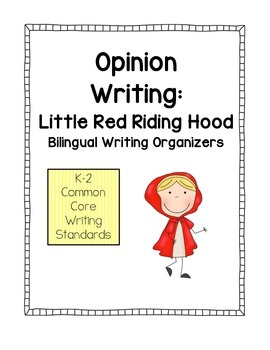 Opinion Writing - Little Red Riding Hood
