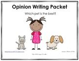 Opinion Writing MEGA Pack
