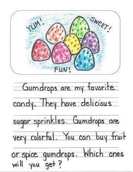 Opinion Writing Mentor Texts in First Grade: What is the Best Candy?