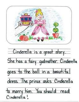 Opinion Writing Mentor Texts in First Grade: What is the Best Fairy Tale?