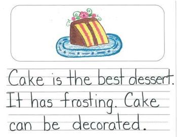 Opinion Writing Mentor Texts in Kindergarten: What is the Best Food?