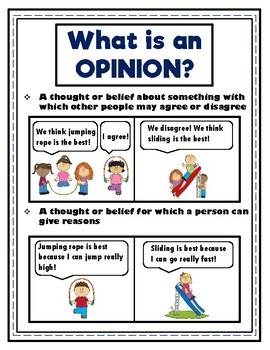 Opinion Writing Made Easy