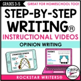 Opinion Writing Mini Lesson Videos | Distance Learning