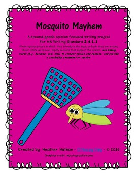Opinion Writing - Mosquito Mayhem