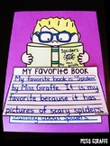 Opinion Writing Activities (5 fun crafts for First Grade & Kindergarten Prompts)