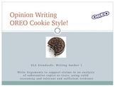 Opinion Writing - OREO Cookie Style!