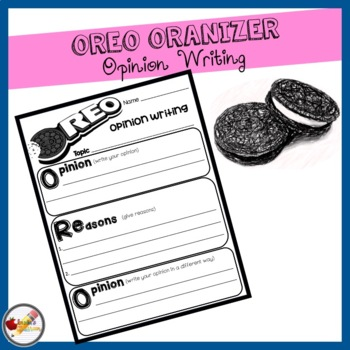 Opinion Writing: OREO Organizer