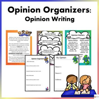 Opinion Writing: Opinion Organizers