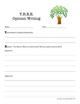 Opinion Writing Organizer (T.R.E.E.)