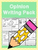Opinion Writing Pack
