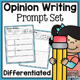 Distance Learning Opinion Writing Prompts - With Editable Option