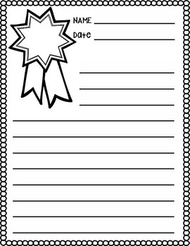 Opinion Writing Paper Options