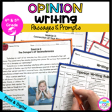 Opinion Writing Passages and Prompts with Google Slides Distance Learning