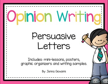 Opinion Writing - Persuasive Letters