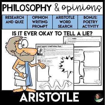 Opinion Writing | Philosophy | Aristotle