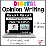 Opinion Writing Picture Prompts for Google Classroom