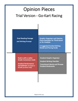 Opinion Writing Pieces - Virtual Racing versus Real Racing