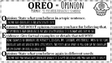 Opinion Writing Poster (Baking Theme)