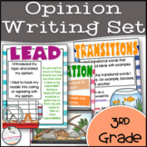 Opinion Writing Posters- 3rd Grade