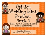 Opinion Writing Posters - Grade 1