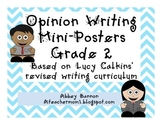 Opinion Writing Posters - Grade 2