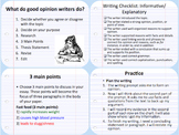 Opinion Writing Power Point
