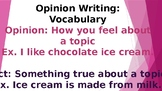 Opinion Writing Powerpoint
