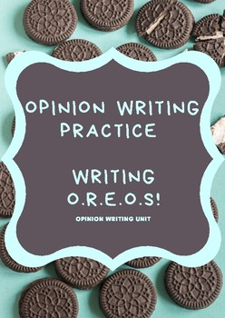 Opinion Writing Practice