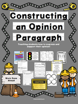 Opinion Writing Practice- Constructing an Opinion Paragraph