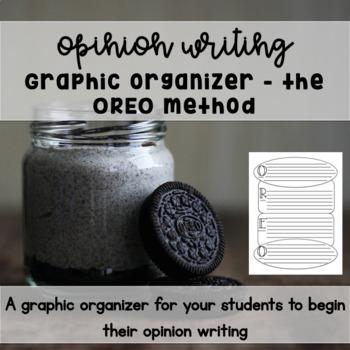 Opinion Writing Pre Writing OREO